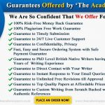 Dissertation Proposal Writing Service | The Academic Papers UK